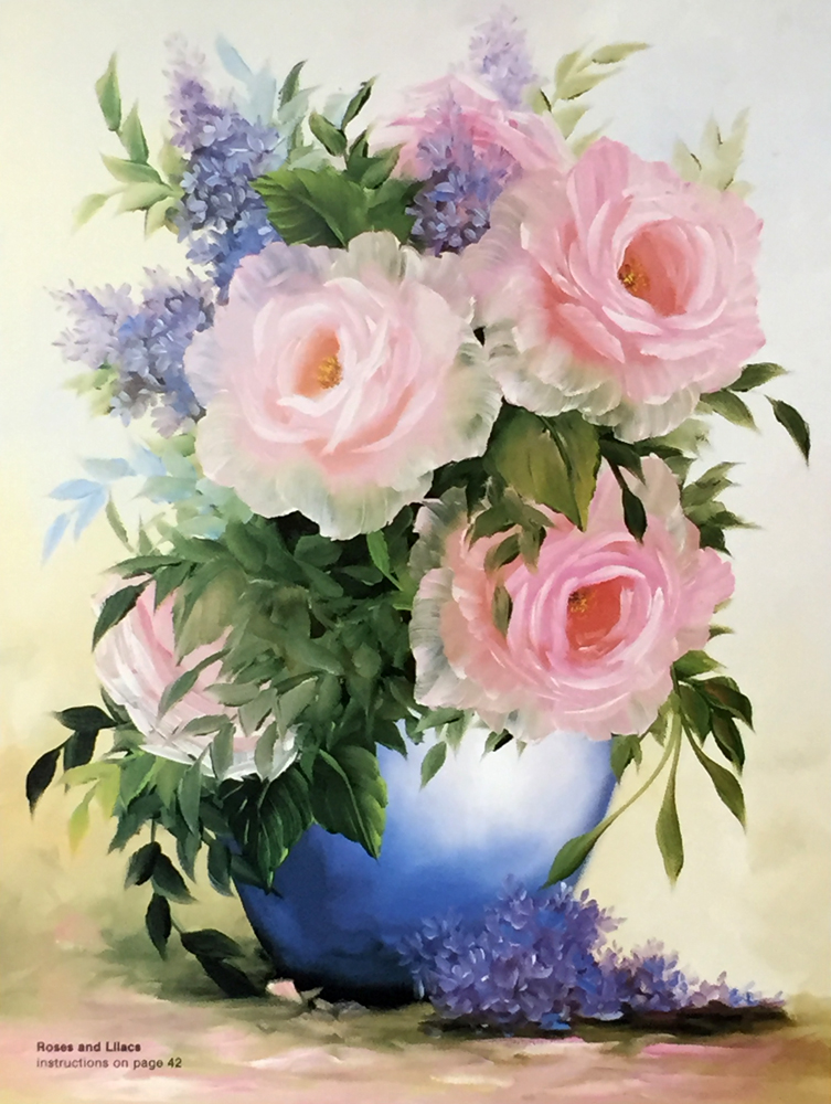 152 Painting Flowers With Augie Sale 9 99 Retail 12 95