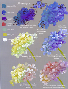 552 Gran's Workbook By Ros Stallcup Easy Acrylic Flower Paintings On Canvas